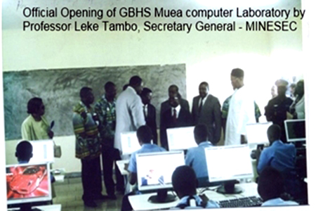 Official Opening – GBHS Muea, Buea SW Region