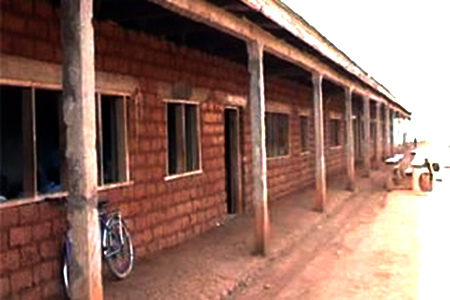 Incomplete block of classrooms - GHS Kedjom Ketinguh