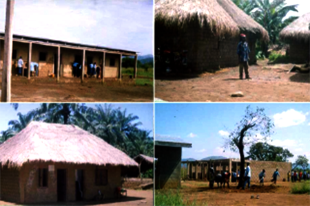 GSS Mbawrong-School and Headteacher's house